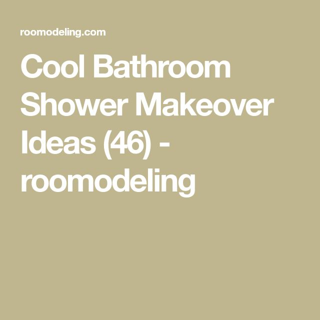 Cool Bathroom Shower Makeover Ideas (46) - roomodeling
