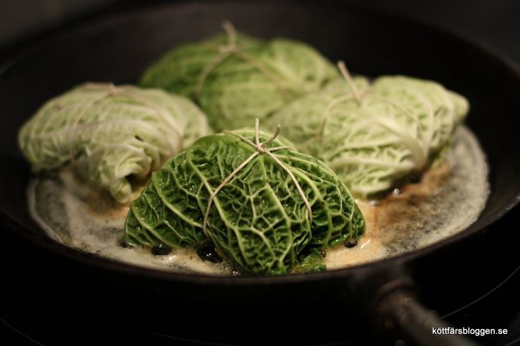 Kåldolmar med savoykål. #recept #food #vegetables #green