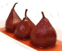 Poached Pears in Red Wine - traditional Dutch recipe - for The Fault in Our Stars