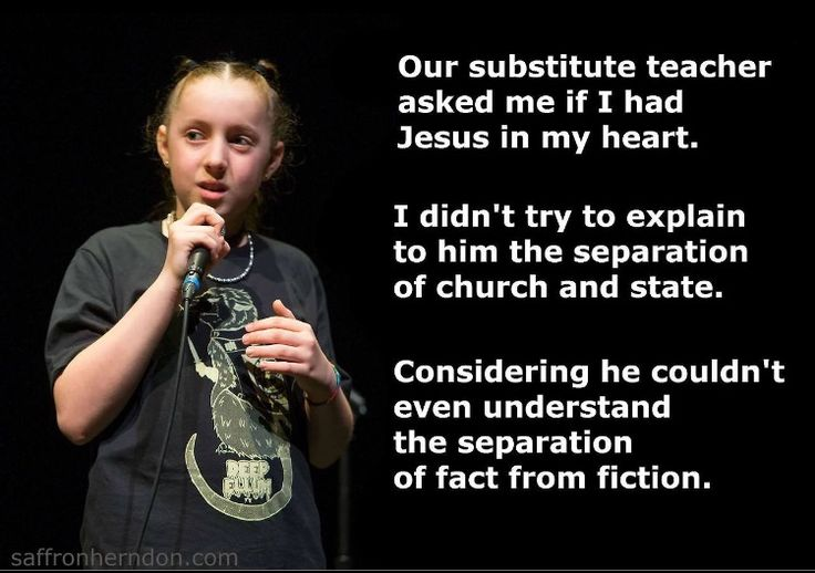 Separation of Church and State... it's in the Constitution for a Reason!!