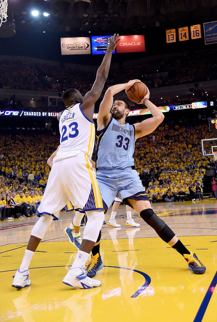 Marc Gasol and Draymond Green : Must-see NBA playoffs second-round photos