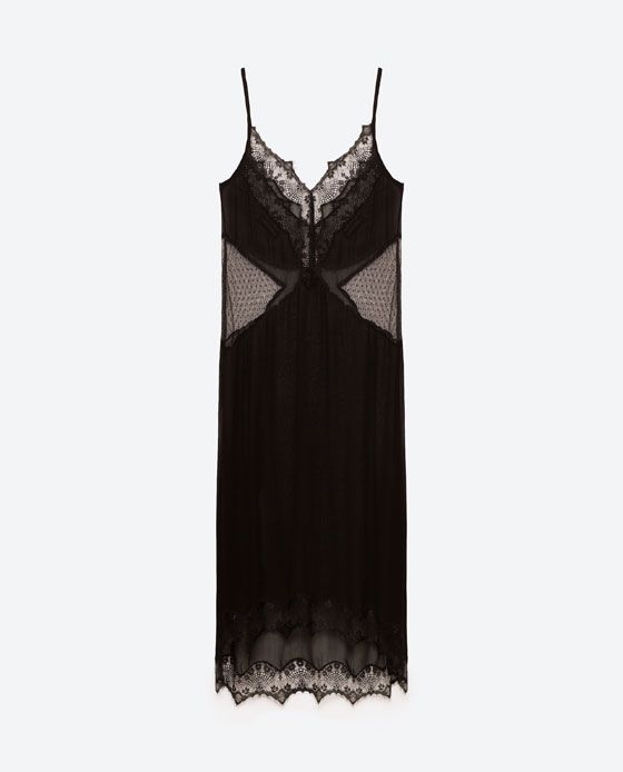 Image 6 of SHEER CAMISOLE DRESS from Zara