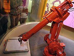 Museo de la Ciencia y de la Tecnología de Shanghái, Robot pintor