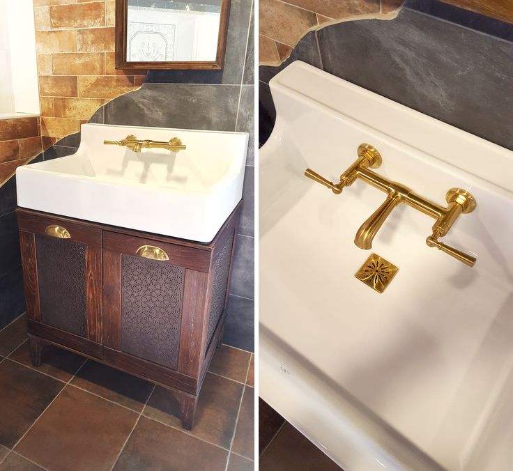 DXV BATHROOM VANITY WITH SINK made