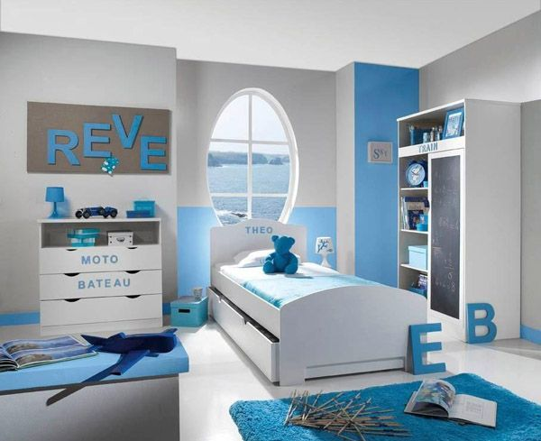 8 best chambre bleu-gris images on Pinterest | Nursery and Tropical