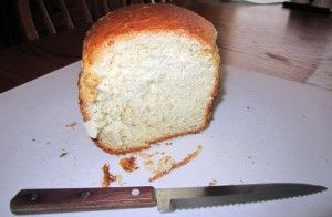 Breadmaker recipe for a 1 lb loaf of cheese herb bread -- delicious!