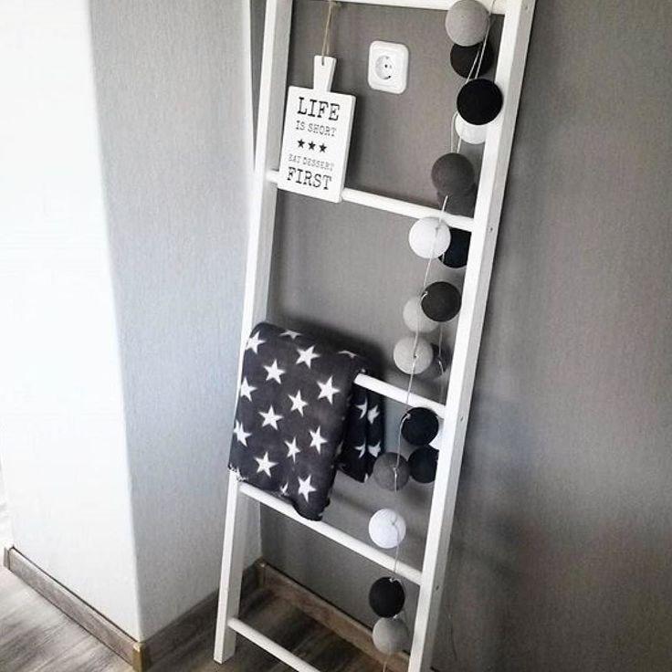 die besten 25 dekoleiter ideen auf pinterest leiter holz einfache holzarbeiten selber machen. Black Bedroom Furniture Sets. Home Design Ideas