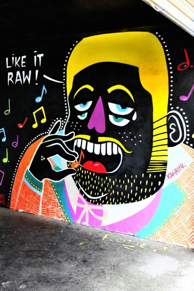 Kashink - street art - rue des Pyrénées