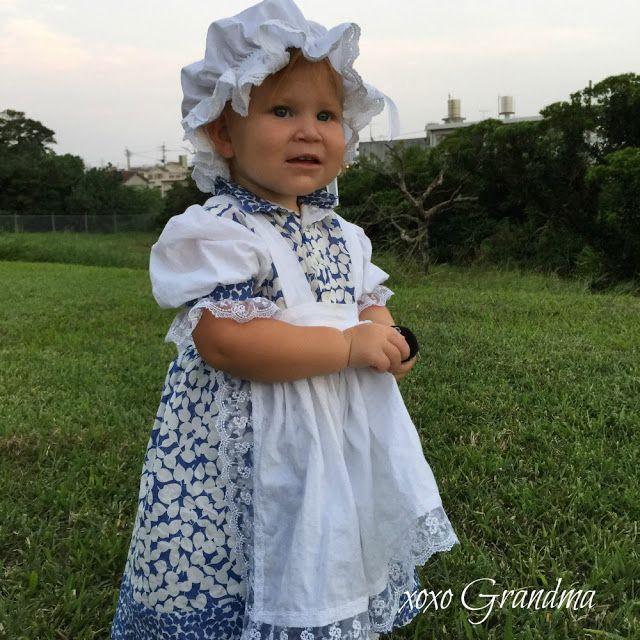 xoxo Grandma: How to Make a Little Miss Muffet Costume