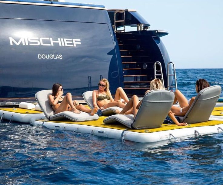 A week of luxury pampering aboard @mischiefsuperyacht for the ladies is long ove…