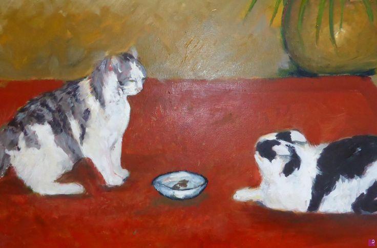 Mia e Balthus di Gisela Wendy Krüger