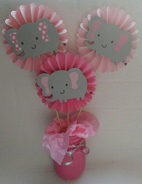 Check out this item in my Etsy shop https://www.etsy.com/listing/385984114/elephant-centerpieces