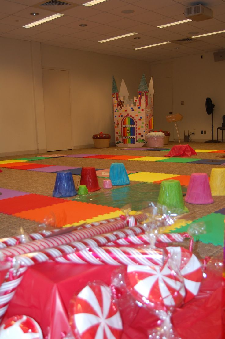 Life Size Candy Land Candyland Peppermint Forest