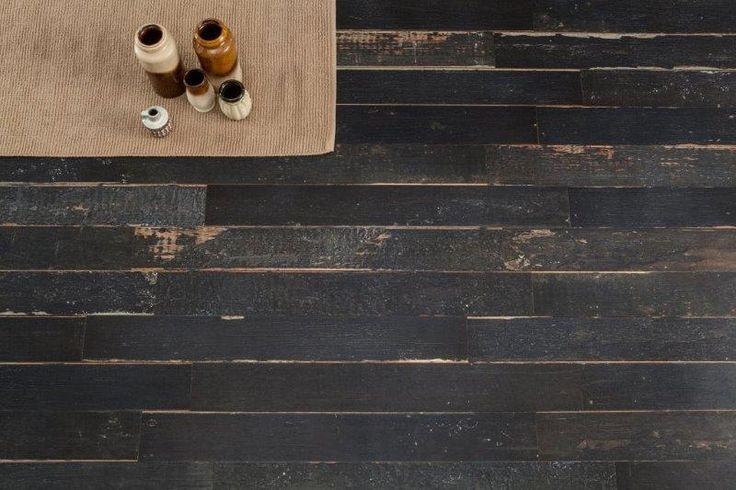 Absolutely beautiful 'Scandi Black' wood effect PORCELAIN tiles.