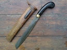 Golok Betawi, traditional weapon of DKI Jakarta