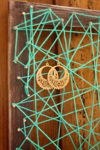 10 DIY Earring Holders You Must Have For Your Bling Storage