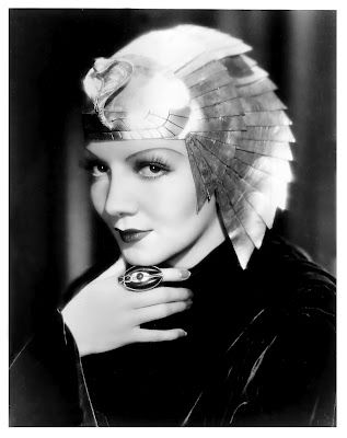 "Claudette Colbert as ""Cleopatra"" 1934"