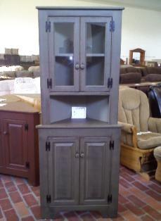 Amish primitive corner cabinet home decor inspirations pinterest amish corner cabinets for Amish kitchen cabinets indiana