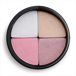 Glo Minerals Shimmer Brick - Shadows - Be an instant sensation with the Shimmer Brick's four beautiful colors. Swirl them together for a captivating all-over glo or use each color individually to highlight and define face, cheeks and eyes Available in gleam and luster.