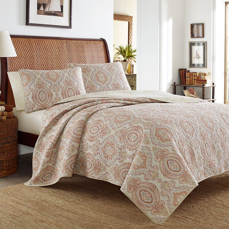 Tommy Bahama Turtle Cove Mango Quilt Set Beddingstyle