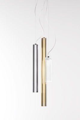 Suspension Rifly / LED - H 60 cm Chromé - Kartell