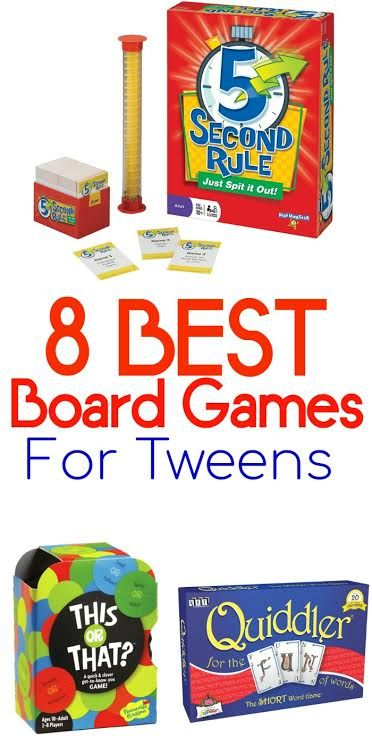Beat Summer Boredom With These Board Games for Tweens! These games are for girls and boys, and perfect for a family game night as well.