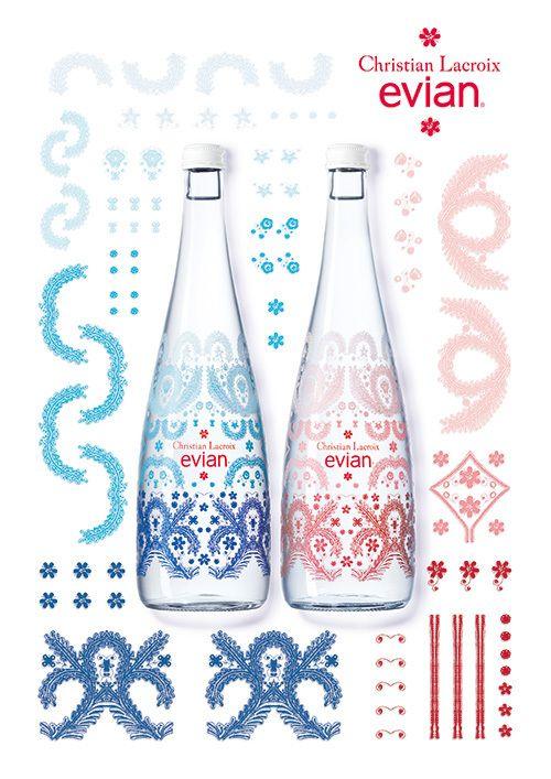 エビアンからクリスチャン・ラクロワによるデザインボトルが発売  - 写真1 | ニュース - ファッションプレス