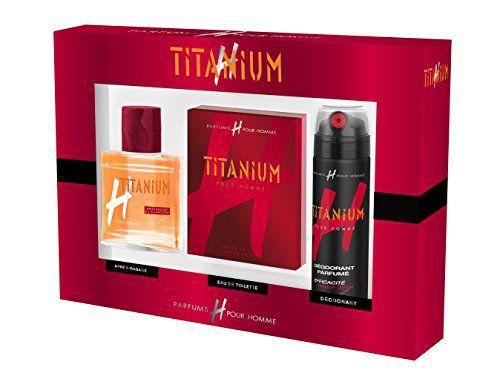H pour HOMME Coffret Titanium Eau de Toilette 75 ml + Déo 200ml + Lotion Après Rasage 100 ml: Découvrez le parfum classique Titanium dans…