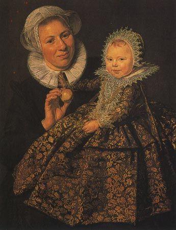Кормилица с ребенком. Франс Хальс, 1620г, Национальный музей,Берлин