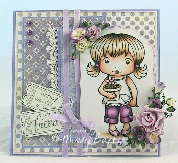 Beautiful Copic Card