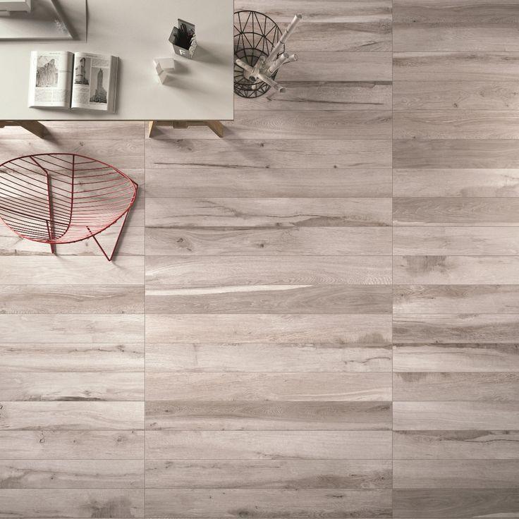 Particolare di un #pavimento realizzato con SOLERAS #abkemozioni  Grigio 20x170…