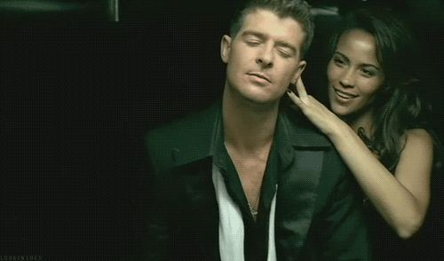 Robin Thicke Celebrated Christmas Eve With Ex-Wife Paula Patton! Was All The Mistletoe Removed Or What?!