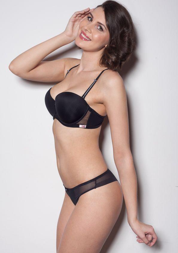 Samanta lingerie - New collect Heka black bra: A472 pants: M300 www.samanta.eu