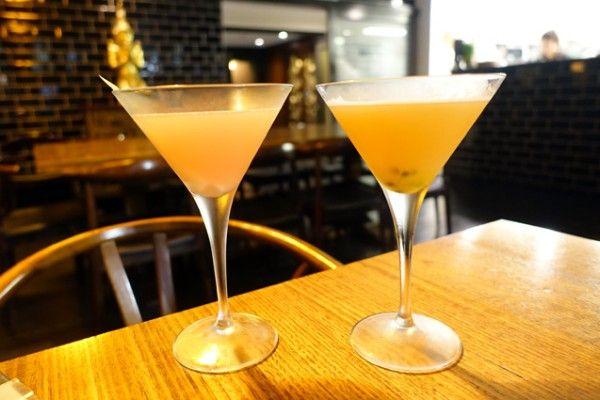 Rhubarb & Lemongrass Martini ($18) & Thongchai Martini ($18) - Green Peppercorn - Does My Bomb Look Big In This?