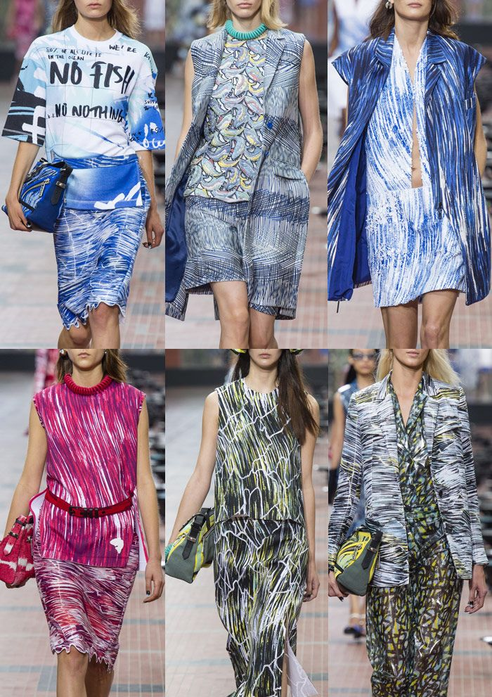 Kenzo - Paris Fashion Week – Spring/Summer 2014 – Print Highlights Part 2