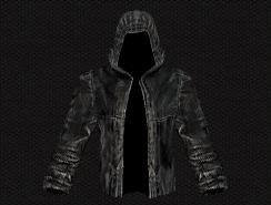 Сталкер черный бандитский плащ описание