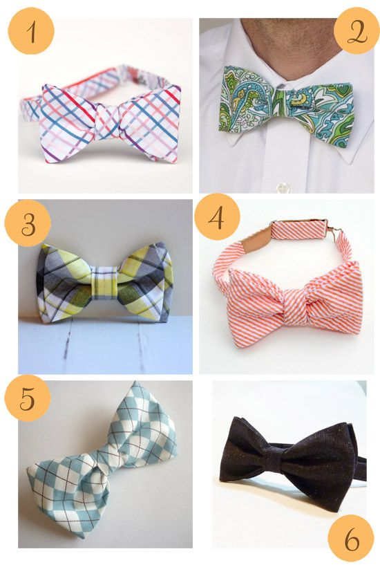 Etsy Roundup – Bow Ties