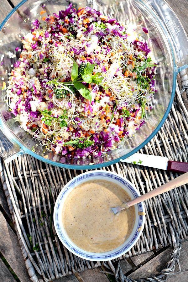 Les Cuisines de Garance: Salade de début de Printemps {& comment manger par plaisir ...}