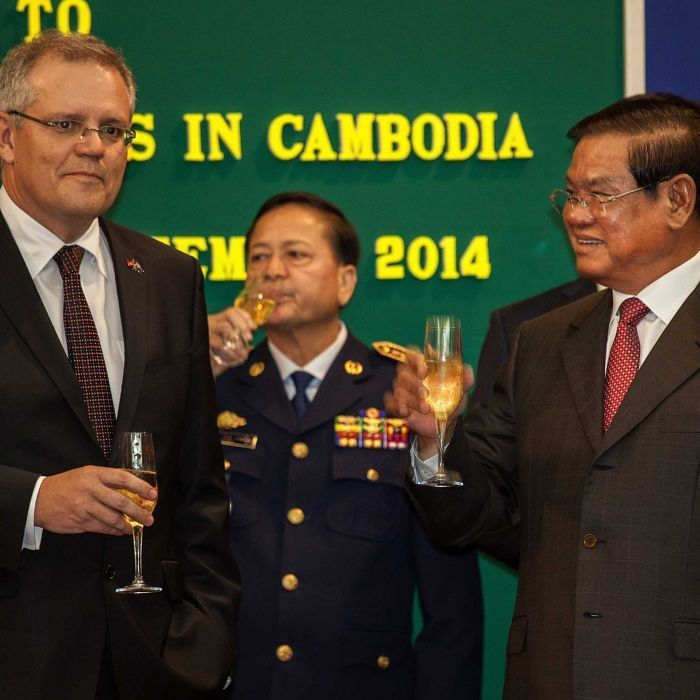 First refugees sent to Cambodia under $55m deal have left