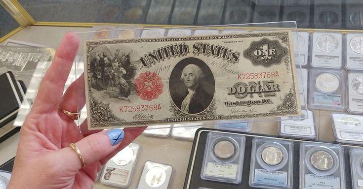 New Arrival a Series 1917 One Dollar Bills #cjscoi…