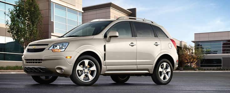 2014 Chevy Captiva Sport Compact Crossover SUV | GM Fleet