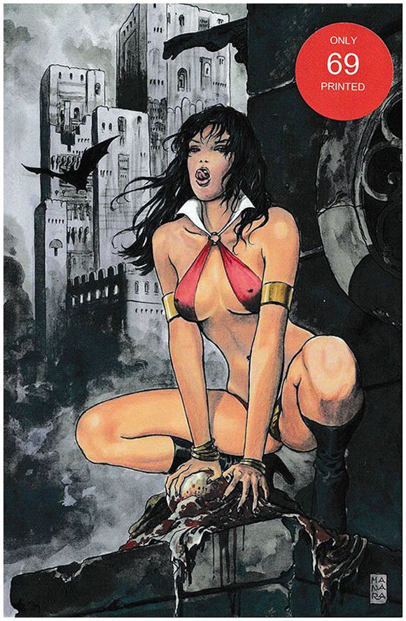 Vampirella Strikes (Vol.2) #1 Manara Virgin Cover. Click the pic and find out more...