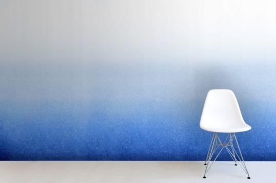 Indigo Ombre Wallpaper Wall Mural | MuralsWallpaper.co.uk