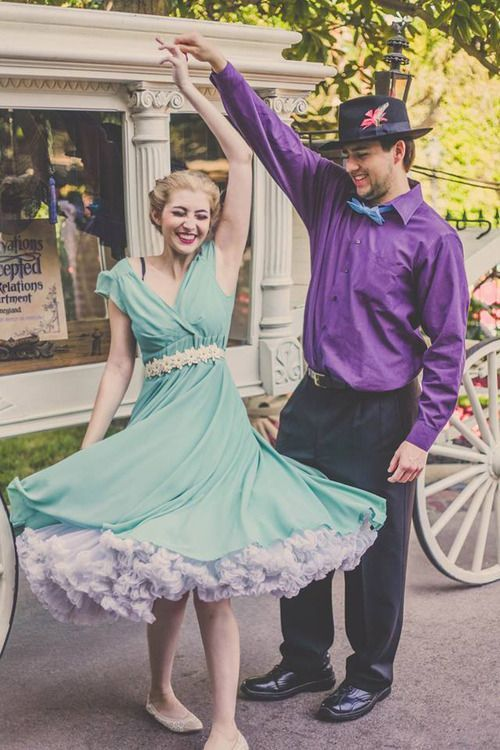 disneyland Dapper Day couples - Google Search