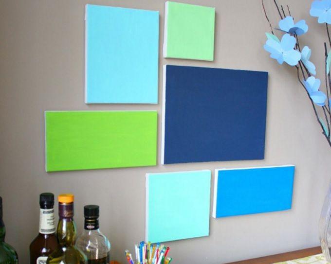 Kanvas tablolar her zaman en çok tercih edilen duvar süslerinden olmuştur. Bu duvar tablolarını basit bir şekilde siz de yapabilirsiniz. Evinizi kendi zevkinize ve beğenize göre süslemek hiç