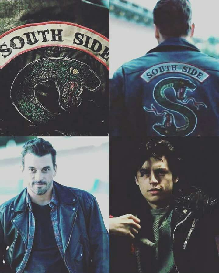 Like father, like son. Jughead Jones and FP Jones