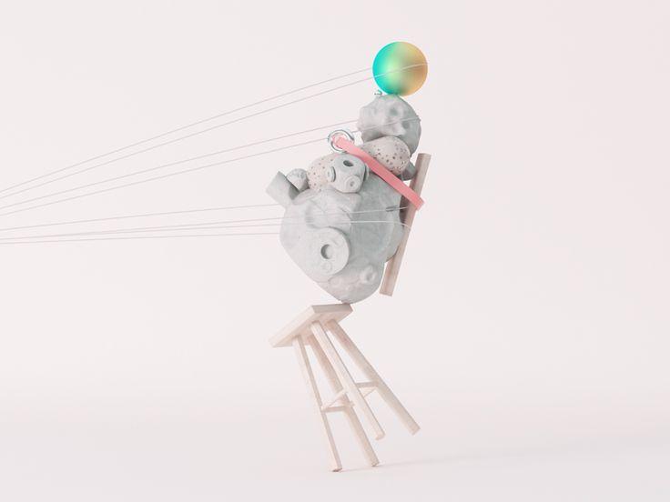 Balance Series 02 by Danny Jones #Design Popular #Dribbble #shots
