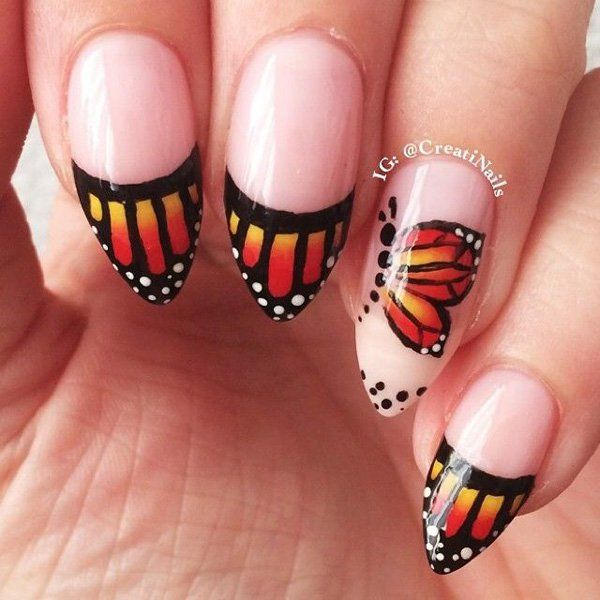 35 Erfly Nail Art Ideas Pinterest Nails And Designs