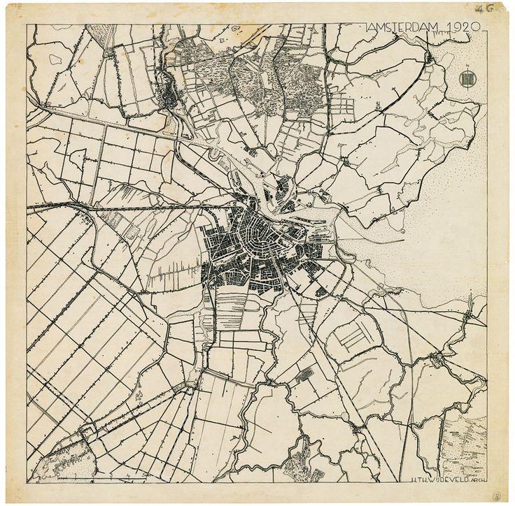 Wijdeveld, Chaos en Orde: Amsterdam in 1920-1927