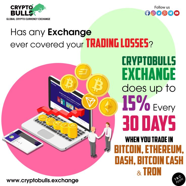 Crypto Bulls Exchange Does up to 15 every 30 Days When